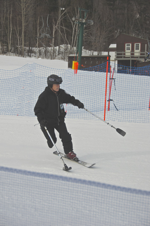 Honorable Mention – Dick Smith – Three Track Skiing